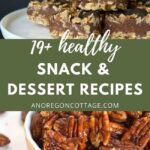 more than 19 healthy snacks-desserts pin image