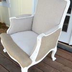DIY Upholstered French Chair without trim