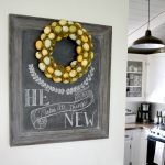 Easter 2016 Chalkboard: He makes all things new.