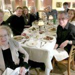 Family dinner at Higgins