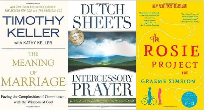 Three books read in March