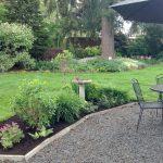 April patio flower bed 2016