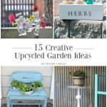 15 Upcycled Garden Ideas Anyone Can Do