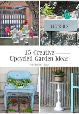 15 incredibly creative upcycled garden ideas anyone can do!
