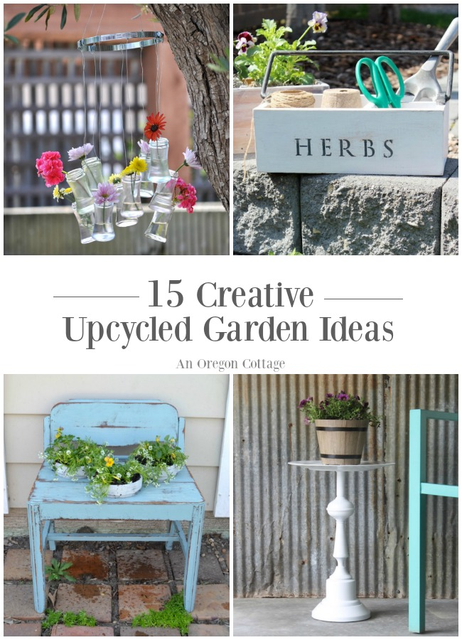 15 incredibly creative upcycled garden ideas anyone can do!