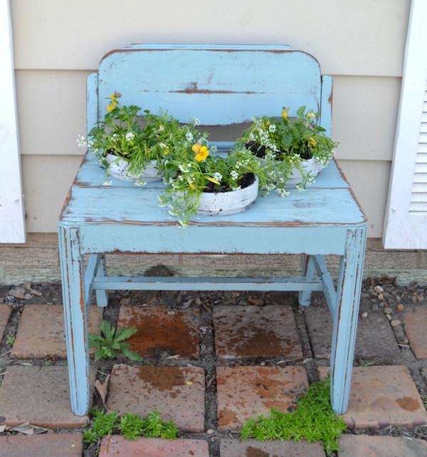 15 Creative Garden Ideas You Can Steal: 15 Upcycled Garden Ideas Anyone Can Do