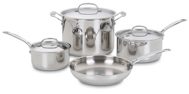 Cuisinart 7-pc Stainless Cookware