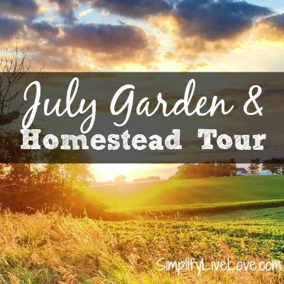 July homestead tour via SimplifyLiveLove