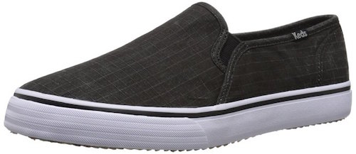 Keds black slip-on sneaker