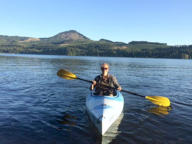 August 2016 kayaking