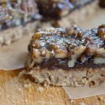 Black Bottom Maple Pecan Pie Bars