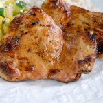 Soy Sriracha Grilled Marinated Chicken