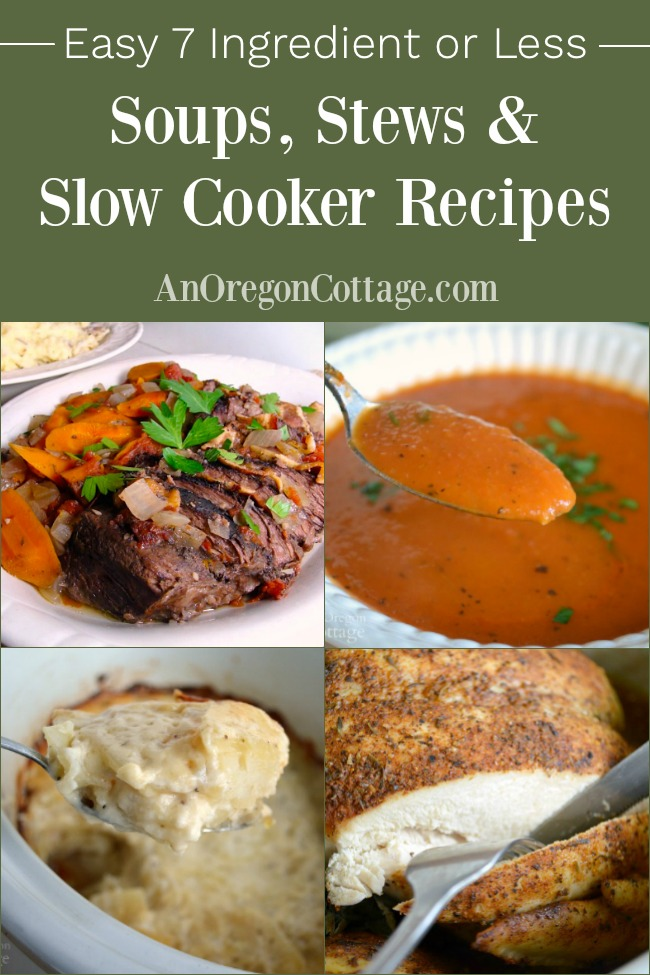 7 Ingredients soup-stews-slow-cooker-recipes pin image