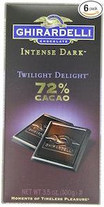 Ghiradelli Dark Chocolate bars