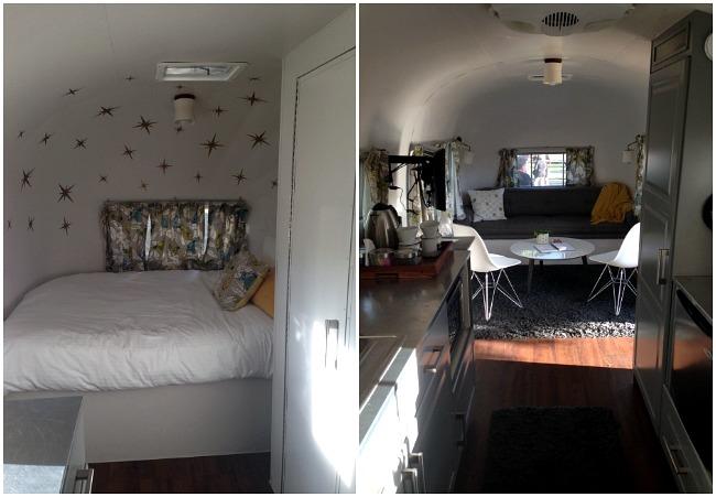 The Vintages Resort Airstream interior