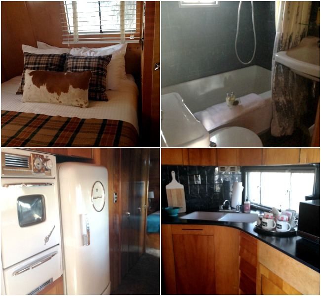 The Vintages Resort trailer interiors