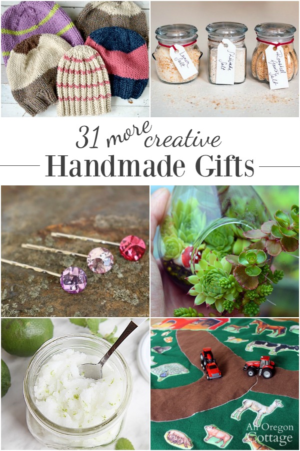 31 MORE handmade gifts for everyone on your list!