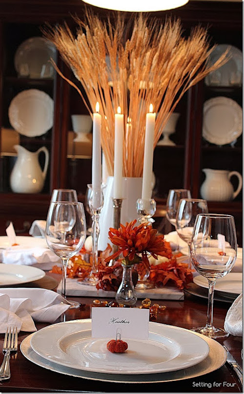 Beautiful unique thanksgiving tablescapes