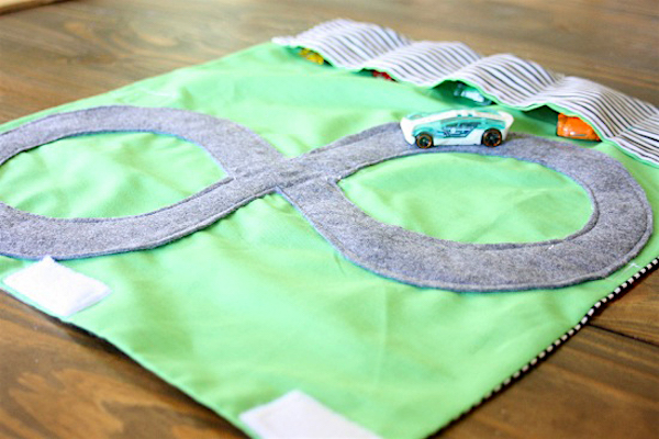 DIY play mat for cars