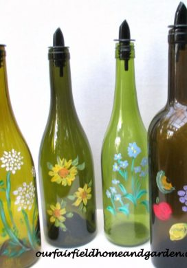 Handmade Gift Idea #26-Upcycled Bottle for Kitchen and Laundry via Our Fairfield Home at AnOregonCottage.com