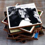 Handmade gift idea #16- DIY Photo Coasters via AKA Design at AnOregonCottage.com
