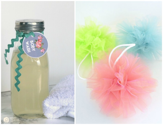 handmade-gift-idea-7-diy-body-wash-and-pouf