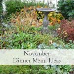 Seasonal November dinner ideas
