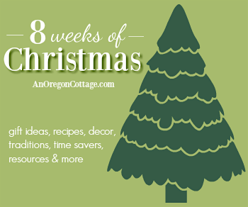 8 weeks of Christmas ideas