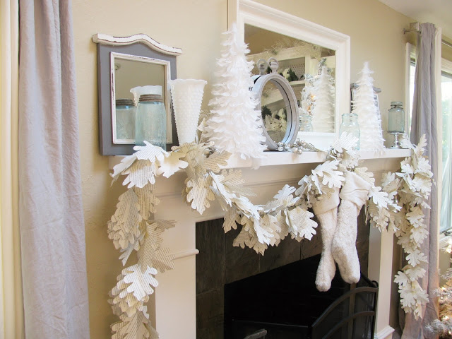 diy-paper-garland via happy happy nester
