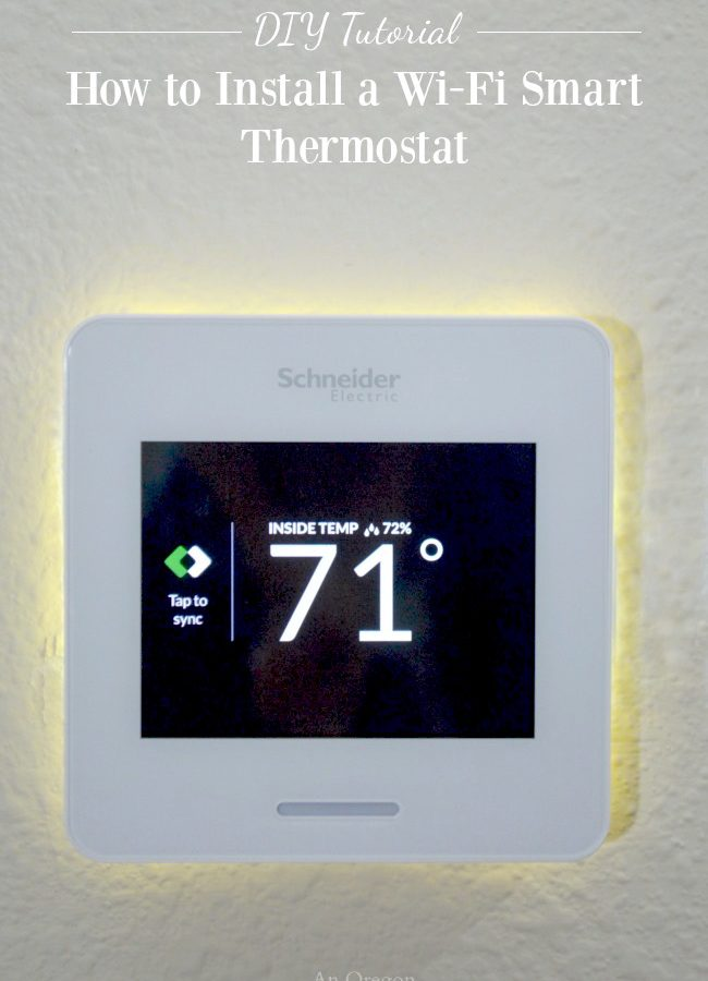 Do-able DIY-How to Install a Wi-Fi Smart Thermostat and save money on installation and energy savings