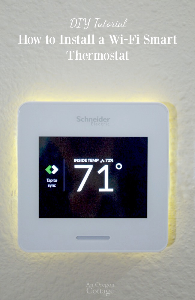 2 wire thermostat wiring diagram shunt trip breaker how to install a wi fi smart thermostat amp wiser air review house thermostat wiring diagram #10