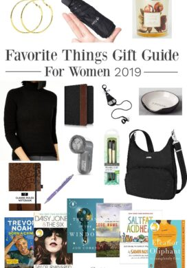 Favorite Things Gift Guide for Women 2019