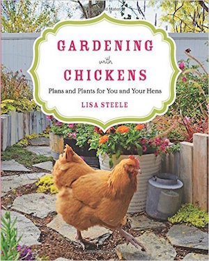 Gardening with Chickens book cover