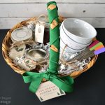handmade gifts- ice cream sundae basket