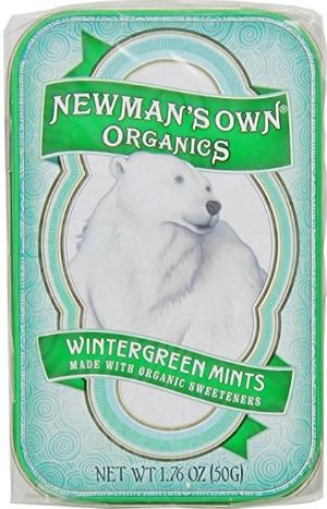 Newman's Own Wintergreen Mints