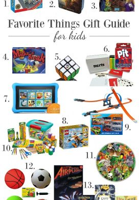 Favorite Things Gift Guides for Kids and Teens