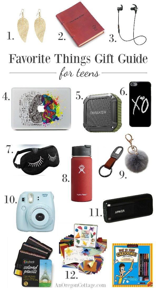 Gift guides for teens: no-fail gifts for the 12 to 20 year olds on your list.