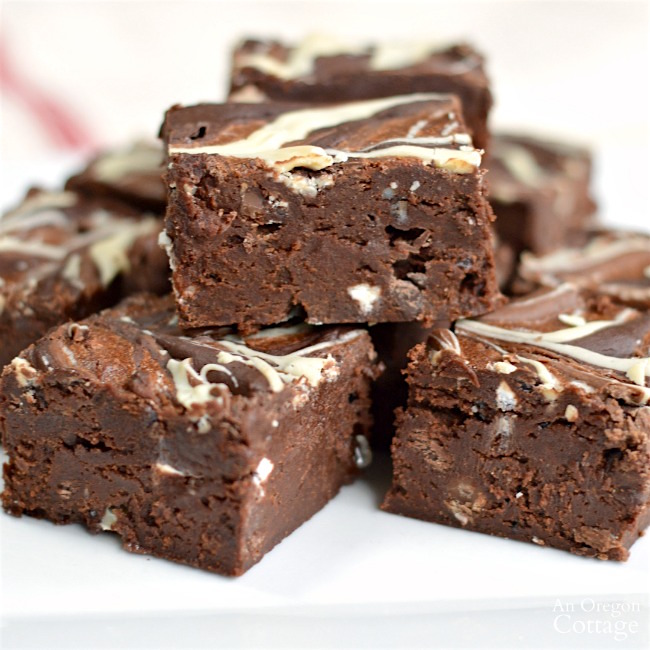 Decadent Quadruple Chocolate Brownies