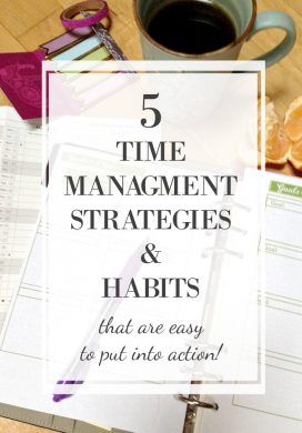 5 time management strategies and habits
