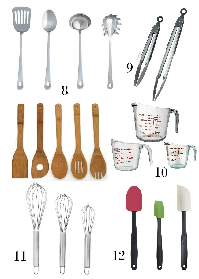 Essential utensils for a healthy kitchen
