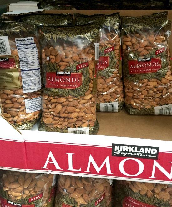 Costco must-buy items | almonds
