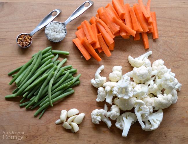 Fermented pickled vegetables ingredients