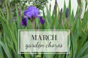 March Garden Task Checklist