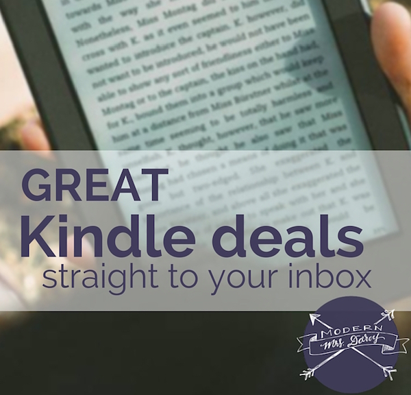 great-Kindle-deals via Modern Mrs. Darcy