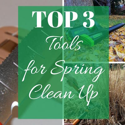 Top Tools for Spring Clean Up @ Creative Living with Bren Haas