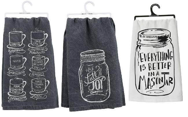 Three Things: Chalkboard tea towels