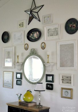 How to Make an Eclectic Gallery Wall
