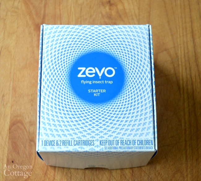 Keep flying insects away with Zevo starter kit
