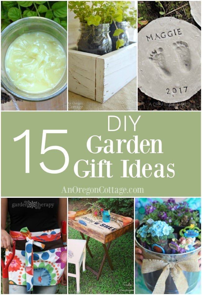 Easy And Sweet DIY Garden Gift Ideas Both For And From The Garden. Perfect  For