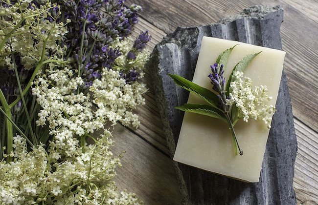 Elderflower-Lavender Soap Recipe at Lovely Greens